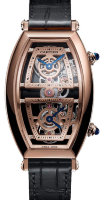 Cartier Prive Tonneau Skeleton Dual Time WHTN0005