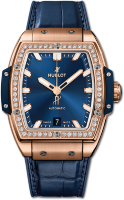 Hublot Spirit Of Big Bang King Gold Blue Diamonds 665.OX.7180.LR.1204
