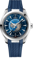 Omega Seamaster Aqua Terra Co-axial Master Chronometer GMT Worldtimer 43 mm 220.12.43.22.03.001