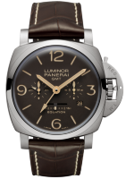 Officine Panerai Luminor 1950 8 Days Equation Of Time Gmt Titanio 47 mm PAM00656