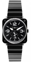 Bell & Ross Instruments Quartz BR S Black Ceramic Diamonds
