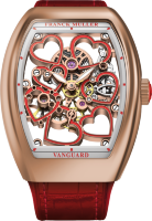 Franck Muller Vanguard Heart Skeleton V38 S6 SQT HEART GOLD