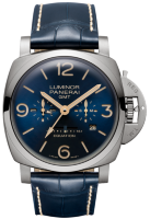 Officine Panerai Luminor 1950 8 Days Equation Of Time Gmt Titanio 47 mm PAM00670