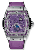 Hublot Spirit of Big Bang Moonphase Titanium Purple 42 mm 647.NX.4771.LR.1205