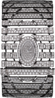 Cartier Creative Jeweled Watches High Jewelry Watches Sobek High Jewelry Visible Hour Watch HPI00950