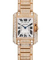 Cartier Tank Anglaise Watch Small Model HPI00558