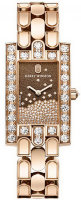 Harry Winston Avenue Diamond Drop in rose gold AVEQHM21RR120