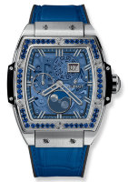 Hublot Spirit of Big Bang Moonphase Titanium Dark Blue 42 mm 647.NX.5171.LR.1201