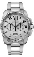 Cartier Calibre de Cartier Chronograph Watch W7100045
