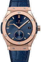 Hublot Classic Fusion Power Reserve King Gold Blue 45mm 516.OX.7180.LR