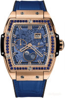 Hublot Spirit of Big Bang Moonphase King Gold Dark Blue 42 mm 647.OX.5181.LR.1201