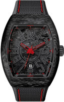 Franck Muller Mens Collection Vanguard V 41 SC DT CARBON.ER