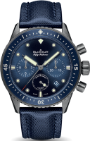 Blancpain Fifty Fathoms Bathyscaphe Chronographe Flyback Ocean Commitment 5200 0240 O52A