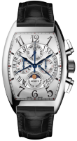 Franck Muller Mens Collection Cintree Curvex Perpetual Calendar 8880 CC QP B White Gold