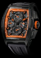 Cvstos Challenge Color CHRONO II ORANGE STORM