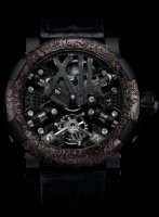 Romain Jerome Sea Titanic Inside Exceptional Pieces Steampunk Black Tourbillon RJ.T.TO.SP.001.01