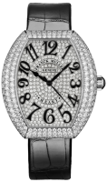 Franck Muller Ladies Collection Heart 5000 H SC D3 CD OG Black