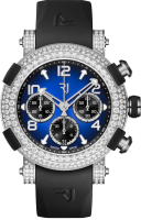 Romain Jerome Arraw Marine Titanium Blue Full Diamonds 1M45C.TTTR.3517.RB.1301