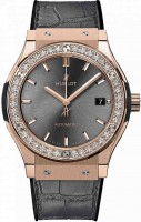Hublot Classic Fusion King Gold Grey Diamonds 33 mm 581.OX.7081.LR.1104