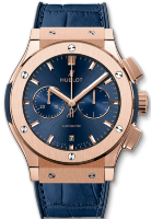 Hublot Classic Fusion Blue Chronograph King Gold 42mm 541.OX.7180.LR