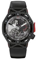 Hublot Big Bang Techframe Ferrari Tourbillon Chronograph Carbon 45 mm 408.QU.0123.RX