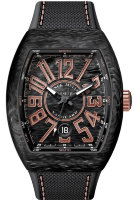 Franck Muller Mens Collection Vanguard V 41 SC DT CARBON.BL 5N