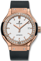 Hublot Classic Fusion King Gold Opalin Diamonds 33 mm 582.OX.2610.RX.1204
