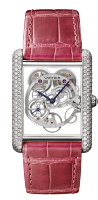 Cartier Creative Jeweled Watches Feminine Complications Tank Louis HPI00705