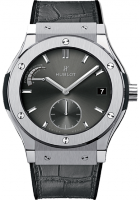 Hublot Classic Fusion Power Reserve Titanium Racing Grey 45mm 516.NX.7070.LR