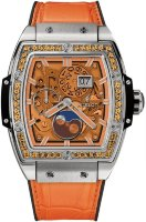 Hublot Spirit of Big Bang Moonphase Titanium Orange 42 mm 647.NX.5371.LR.1206