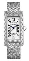 Cartier Tank Americaine Watch Medium Model HPI00622