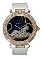 Cartier Creative Jeweled Watches Feminine Complications Watches Women's Complication Watch HPI00712