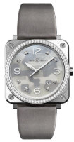 Bell & Ross Instruments 39 mm Quartz BR S Grey Camouflage Diamonds