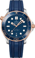 Omega Seamaster Diver 300 m Co-axial Chronometer 42 mm 210.22.42.20.03.002