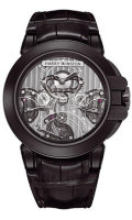 Harry Winston Ocean Triple Retrograde Chronograph Black Zalium OCEACT44ZZ002