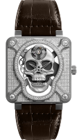 Bell & Ross Instruments 46 mm BR 01 Laughing Skull Full Diamond BR01-SKULL-SK-FLD