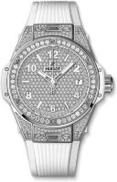 Hublot Big Bang One Click Steel White Full Pave 39 mm 465.SE.9010.RW.1604
