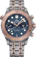 Omega Seamaster Diver 300 m Co-axial Master Chronometer Chronograph 44 mm 210.60.44.51.03.001