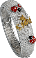 Cartier Creative Jeweled Watches Bestiaire Secret With Ladybug Design HPI00538