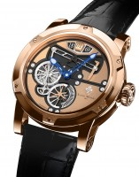 Louis Moinet Transcontinental Pink Gold