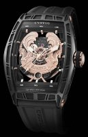 Cvstos Hour Minute Seconde Challenge World Coat Of Arms WCOA Black Steel