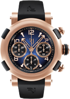 Romain Jerome Arraw Chronograph 42 mm Gold Blue 1M42C.OOOR.3518.RB