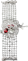 Cartier Creative Jeweled Watches Bestiaire Watches Secret Watch With Phoenix Decor HPI00554