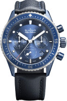 Blancpain Fifty Fathoms Bathyscaphe Bucherer Blue Editions 5200-0340-O52A