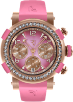 Romain Jerome Arraw Chronograph 42 mm Gold Pink Diamonds 1M42C.OOOR.4520.RB.1101