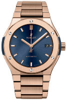 Hublot Classic Fusion Blue King Gold Bracelet 45 mm 510.OX.7180.OX