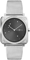 Bell & Ross Instruments 39 mm Quartz BR S Grey Diamond Eagle Diamonds BRS-ERU-ST-LGD/SST