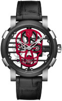 Romain Jerome Skylab 48 Speed Metal Red Skull RJ.M.AU.030.12