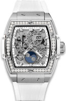 Hublot Spirit of Big Bang Moonphase Titanium White Diamonds 42 mm 647.NE.2070.RW.1204