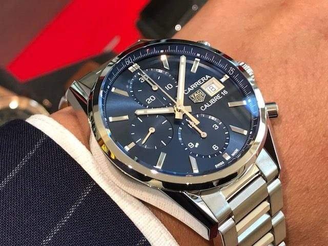 half off d5a0f 16c86 Часы Tag Heuer Carrera Calibre 16 CBK2112.BA0715 — купить в ...